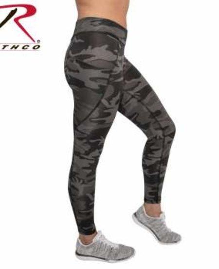 Women's Black Camo Workout Leggings