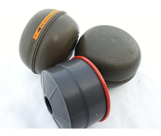 Swiss 40mm NBC NATO Gas Mask Filter