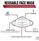 Rothco Reusable 3-Layer Polyester Face Mask
