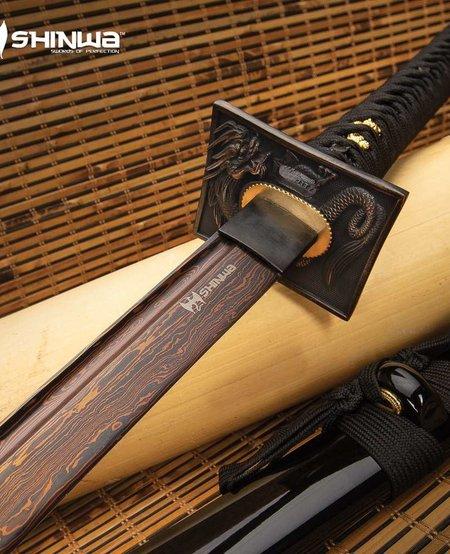 Handmade Katana Samurai Sword - Damascus Steel