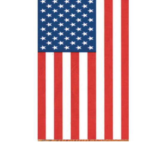 Ramsons Imports USA Garden Flag Embroidered 1 Side