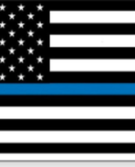 Thin Blue Line 4 x 6 Magnet