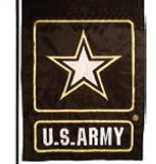 Ramsons Imports Army 12 x 18 Embroidered Garden Flag