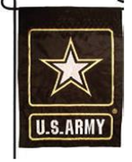 Army 12 x 18 Embroidered Garden Flag