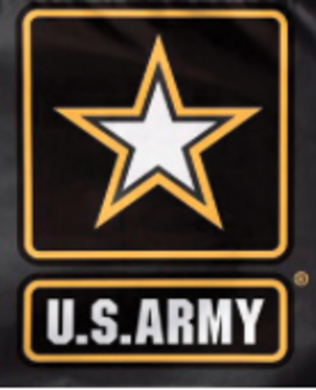 Army with Star 3 x 5 Embroidered Flag