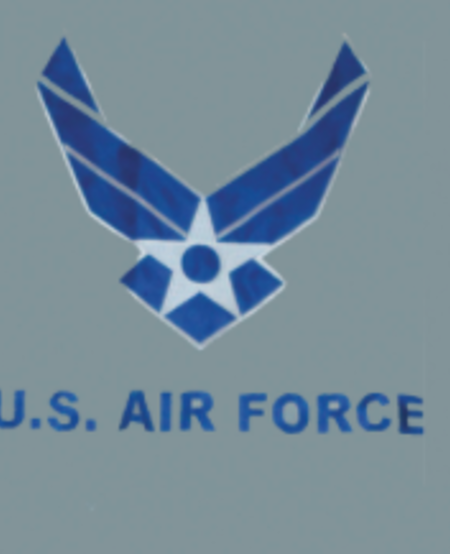 Air Force Wing Embroidered 3 x 5 Flag
