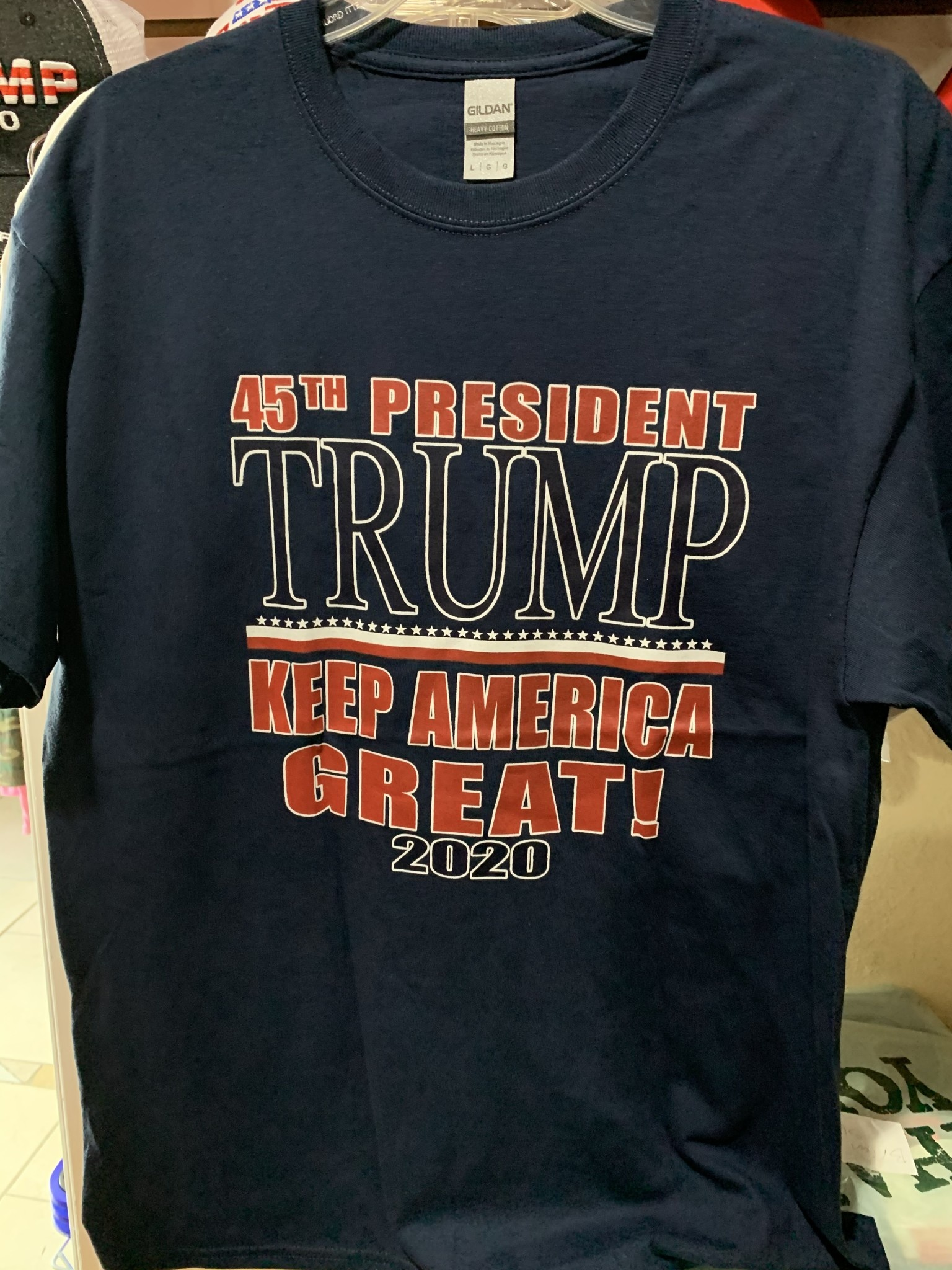 45th President Trump Keep America Great T-Shirt