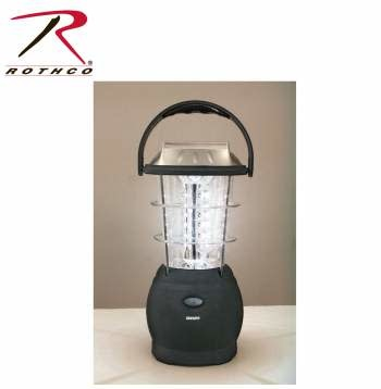 Rothco 36 Bulb LED Solar and Handcrank Lantern