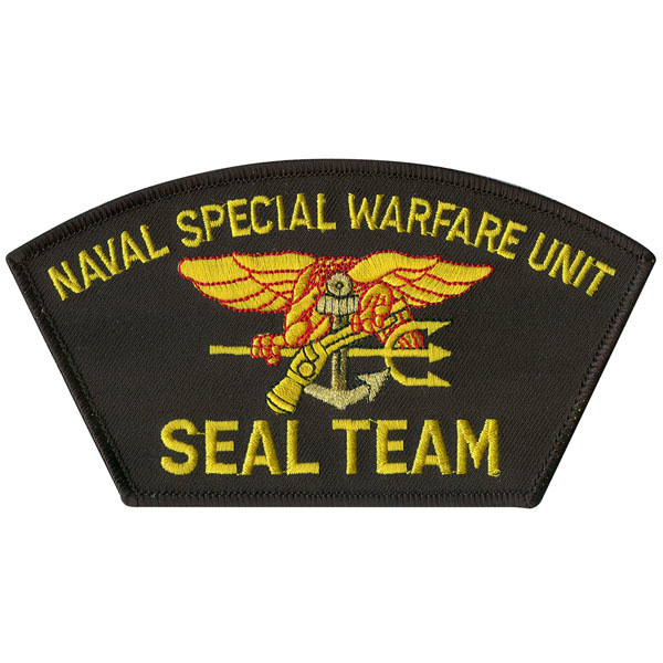 Navy Seals Special Warfare Patch