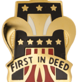 Military 1st Army Unit Crest (First In Deed)
