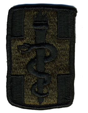 Military 1st Medical Brigade Patch