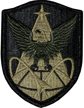 Military 1st Space Brigade Patch