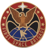 Military 1st Space Brigade Unit Crest