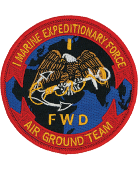 1st Marine Expeditionary Force Patch