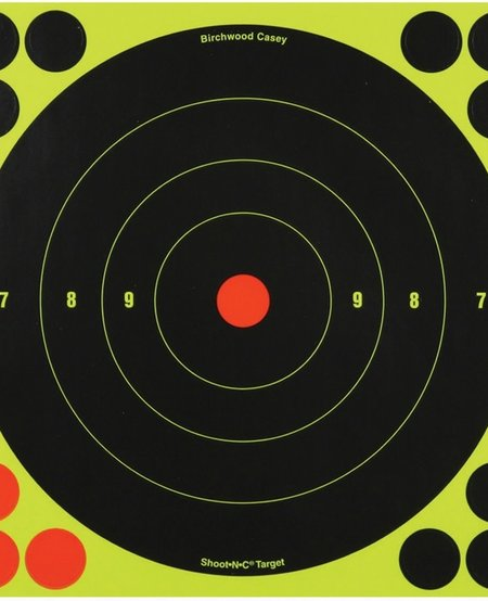 Shoot-NC 8 in. Bullseye Target