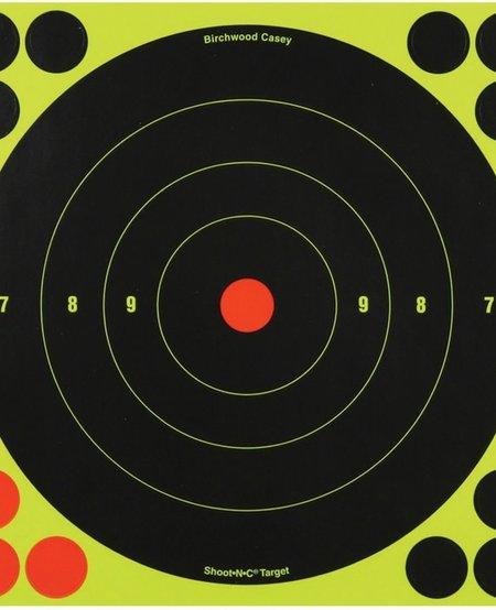Shoot-NC 12 in. Bullseye Target