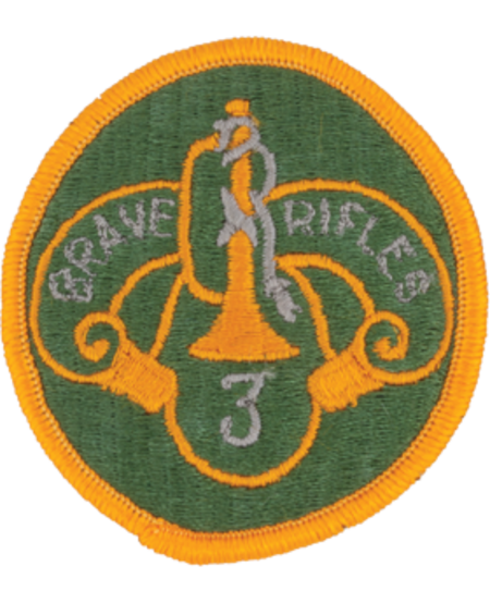 3rd Cavalry Regiment Patch