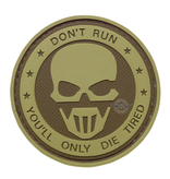 5ive Star Gear Don't Run, You'll Only Die Tired Ghost Morale Patch