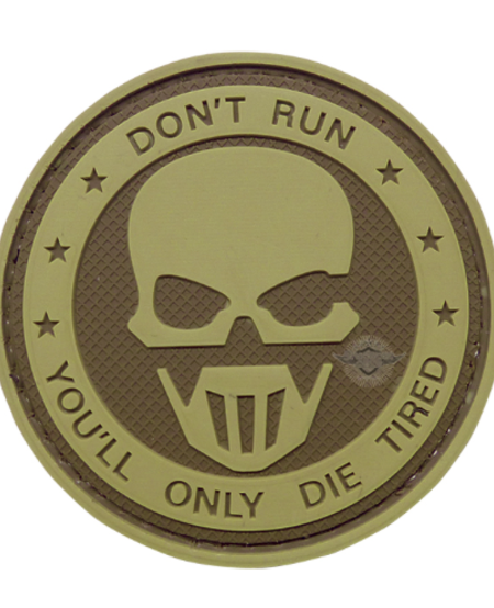 Don't Run, You'll Only Die Tired Ghost Morale Patch