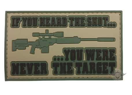 5ive Star Gear If You Heard the Shot Morale Patch