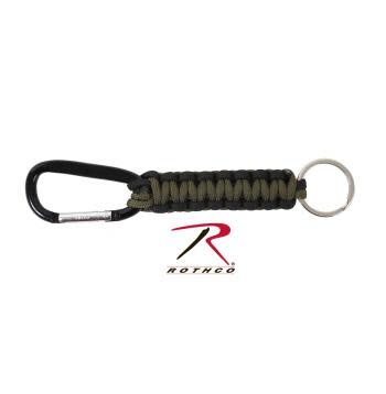 Rothco Paracord Keychain with Carabiner