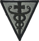 Military 3rd Medical Command Patch