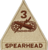 Military 3rd Armor Division Patch