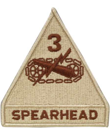 3rd Armor Division Patch