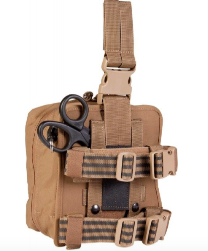Military Issued Medic Leg Rig Kit (Pouch Only) (Used)