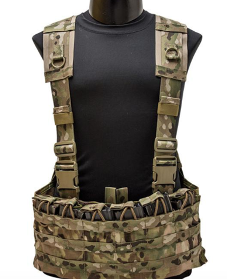 Falcon Chest Harness (Coyote) - ISSUED (NEW)