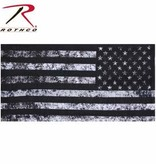 Rothco Black & White US Flag Multi-Use Neck Gaiter and Face Covering Tactical Wrap