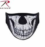 Rothco Half Skull Reusable 3-Layer Polyester Face Mask