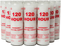 120 Hour Emergency Candle