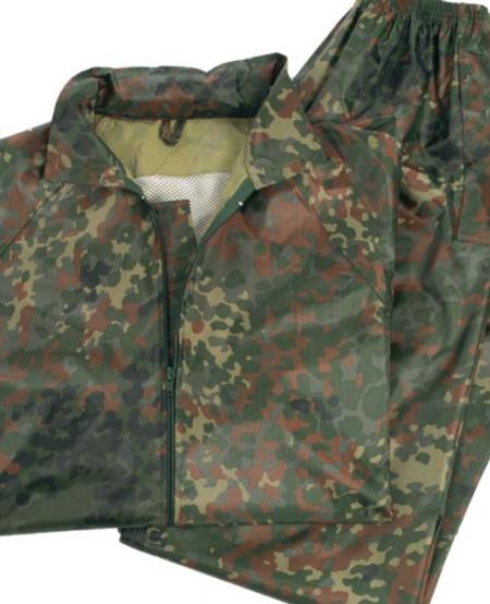 German Flectar Camo Wet Weather Suit (Jacket & Pants Included)