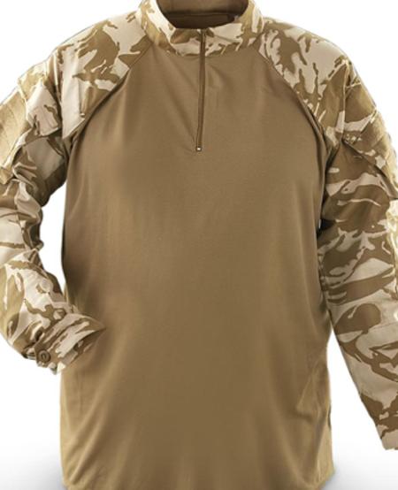 British Issued Combat Shirt - Desert DPM Camo - NEW - ISSUED