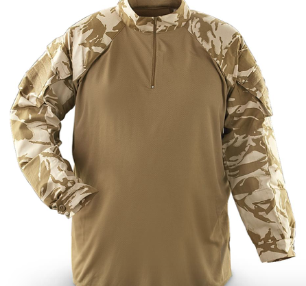 British Issued Combat Shirt - Desert DPM Camo - NEW - ISSUED