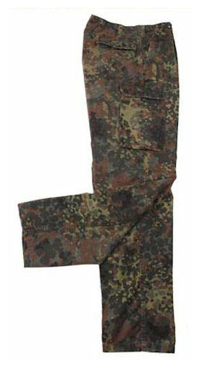German Issued Flectar Camo Pants - USED