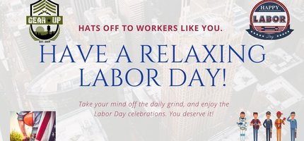 What to bring with you this Labor Day Weekend