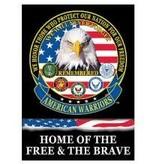 Eagle Emblems 29 x 42 Banner