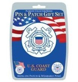 Eagle Emblems Pin and Patch Gift Set