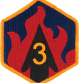 Military 3rd Chemical Brigade Patch
