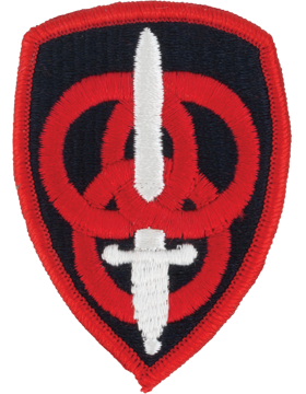 Military 3rd Personnel Command Patch