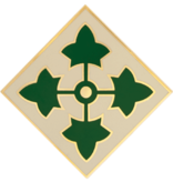 Military 4th Infantry Division Combat Service