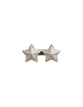 Military 3/16 Silver Star 2 - on