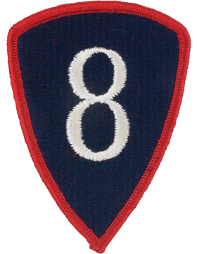 Military 8th Personnel Command Patch