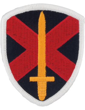 Military 10th Personnel Command Patch