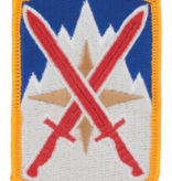 Military 10th Sustainment Brigade Patch