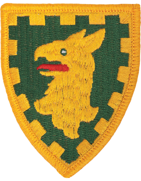 Military 15th Military Police Brigade Patch