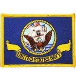Eagle Emblems US Navy Flag Patch