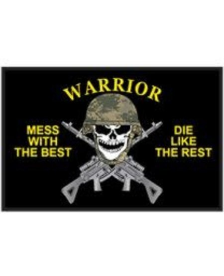 Warrier Mess with the Best Patch